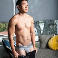 Asiatique et blanc gay sexe